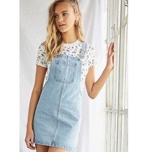 Forever 21 mini overall dress